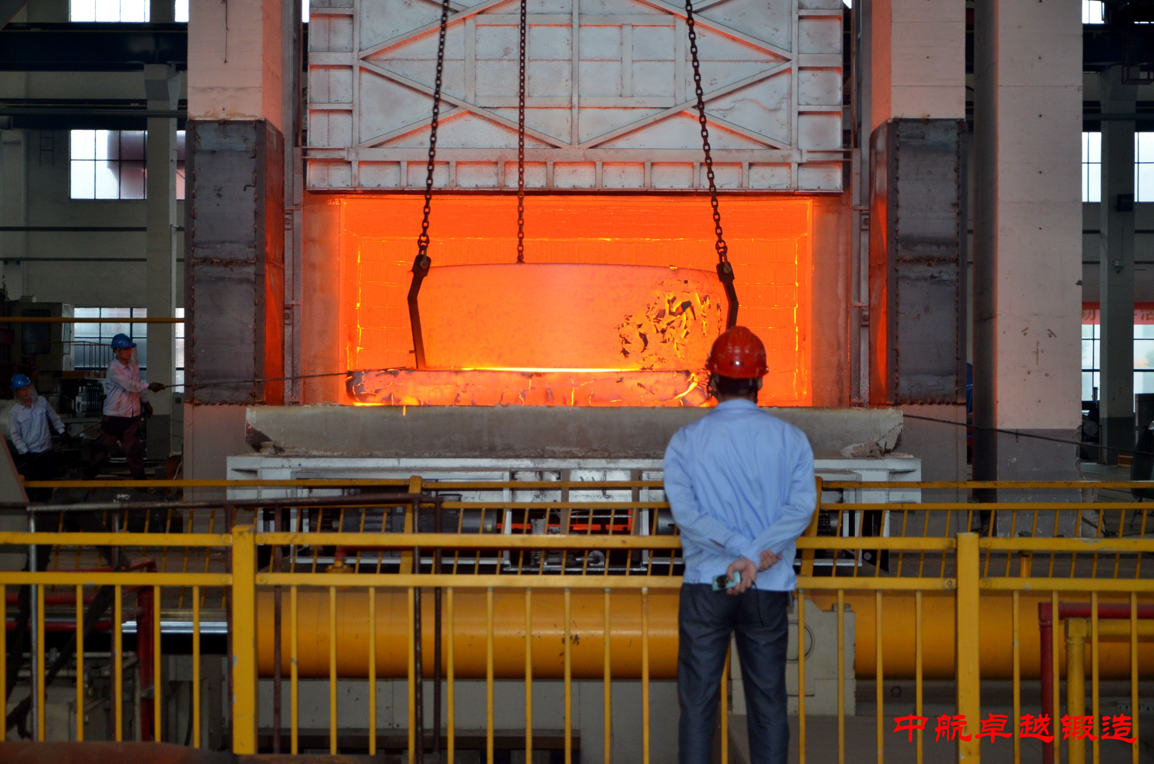 Avic Excellence Forging (Wuxi) Co., Ltd  successfully finished 36 tons of special ring forgings